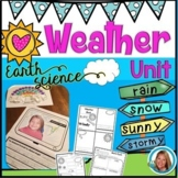 Weather Unit Kindergarten and 1st Grade - Water Cycle, Rainbows