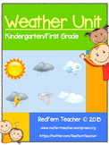Weather Unit - Kindergarten First Grade