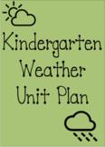 Weather Unit Plan