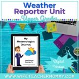 Weather Unit Journal Activities Google Slides Digital Dist