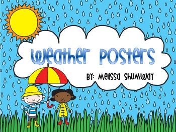Weather Unit Posters