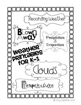 Weather Unit Printables