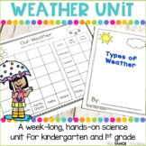 Weather Unit | Science Centers for Kindergarten and First Grade