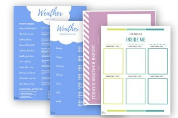Weather Unit Study | Weather Unit | Printable Meteorology Unit | Earth Science