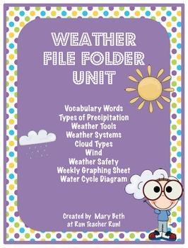 Weather Unit: Super File Folder!