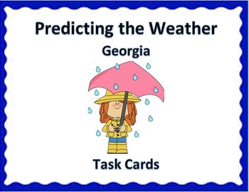 Weather Unit Task Cards