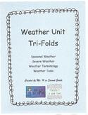 Weather Unit Tri-Folds