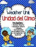 Weather Unit - Unidad del Clima - Dual Language - English & Spanish