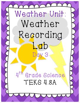4th Grade Weather Lab