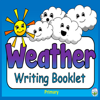 Weather Writing Template Kindergarten, 1st Grade