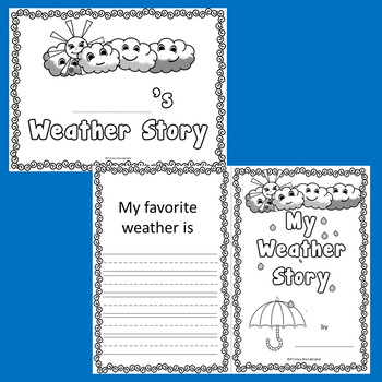 writing template for kindergarten
