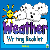 Weather Writing Template Kindergarten, 1st Grade