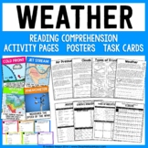 Weather Science Unit - Reading Passages and Activities!