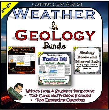 Earth Science Unit- Weather and Geology