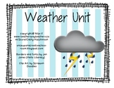 Weather Unit for Early Elementary - Super cute Activities and Projects!