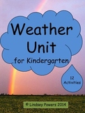 Weather Unit for Kindergarten
