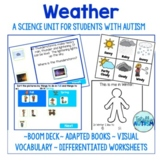 Weather Unit for Special Ed