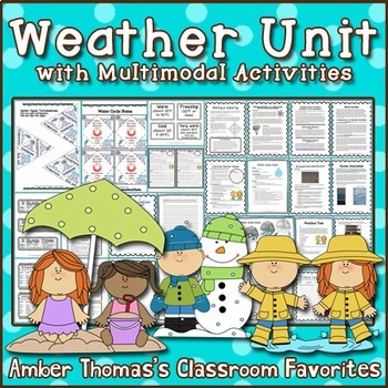 Weather Unit with Multimodal Activities
