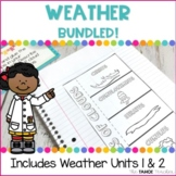 Weather Units Bundled!   Science Centers for Elementary Grades