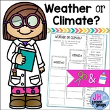 Weather VS Climate: Cut and Paste Sorting Activity