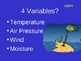 Weather Variables