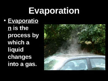 Weather Vocabulary 1 PowerPoint