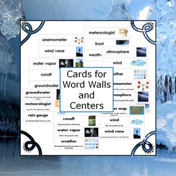 Weather Vocabulary Activities