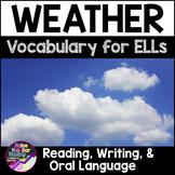 Weather Vocabulary Activities for Beginning ELLs