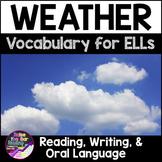 Weather Vocabulary Activities for Beginning ELLs