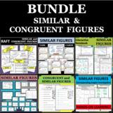 SIMILAR CONGRUENT FIGURES BUNDLE Differentiated Activities
