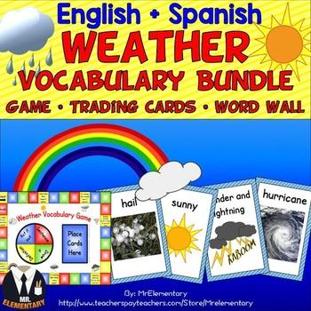 Weather Vocabulary Bundle