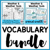 Weather Vocabulary Bundle