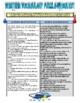 Weather Vocabulary (Crossword Webquest)