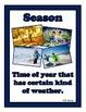 Weather Vocabulary (English Version)