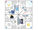 Weather Vocabulary Foldable Graphic Organizer 2