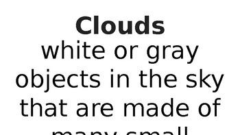 Weather Vocabulary PPT