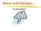Spanish Weather Vocabulary Powerpoint