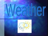 Weather Powerpoint  Vocabulary for Beginner ESL/ELL/ESOL or Primary Grade Levels