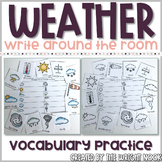 Weather Vocabulary Write The Room