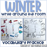 Winter Vocabulary Write The Room