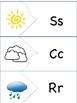 Weather Vocabulary Puzzles FREEBIE!