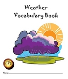 Weather Vocabulary Student Booklet