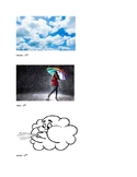 Weather Vocabulary picture cards
