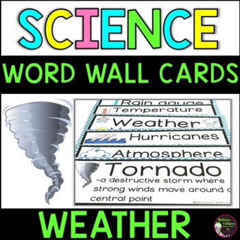 Weather Vocabulary- with definitions