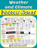 """Weather Vs. Climate """"Doodle"""" Style Notes"""