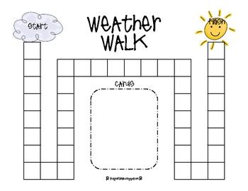 Weather Walk Game