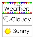 Weather Wall cards