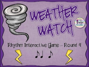 Weather Watch - Round 4 (Syncopa)