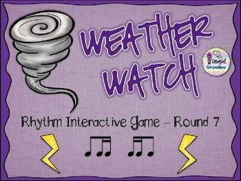 Weather Watch - Round 7 (Ti-Tika and Tika-Ti)
