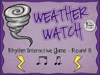 Weather Watch - Round 8 (Tim-Ka and Ka-Tim)